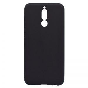 Черный матовый силиконовый (TPU) чехол (накладка) для Huawei Mate 10 Lite (Black)