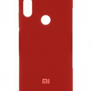 Оригинальный силиконовый чехол для Xiaomi Mi 6X / Mi A2 (Red)
