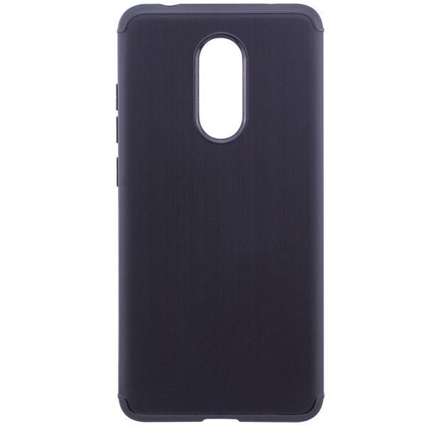 Силиконовый (TPU) чехол Carbon для Xiaomi Redmi 5 (Black)