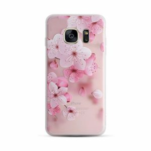 TPU чехол матовый soft touch для Samsung G930F Galaxy S7 (Сакура)