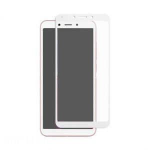 Защитное стекло 3D Full Glue (на весь экран) для Xiaomi Redmi 6A (White)