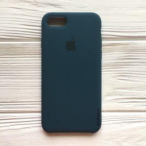 Оригинальный силиконовый чехол (Silicone case) для Iphone 7 / 8 (Corsair) №1