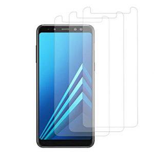 Защитное стекло 2.5D для Samsung A730 Galaxy A8 Plus (2018)