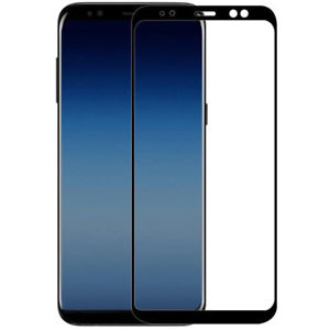 Защитное стекло 3D Full Glue (на весь экран) для Samsung A730 Galaxy A8 Plus (2018) Black