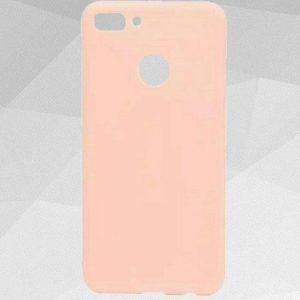 Матовый силиконовый ультратонкий чехол Soft Touch для Y6 Prime 2018 / Honor 7A Pro / Honor 7C (Pink)