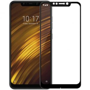 Защитное стекло 3D Full Glue (на весь экран) для Xiaomi Pocophone F1(Black)