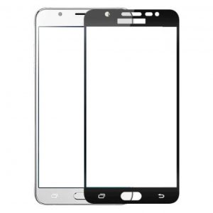 Защитное стекло 3D Full Cover (на весь экран) для Samsung J510 Galaxy J5 (2016) Black