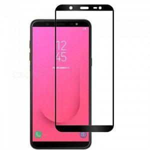 Защитное стекло 3D Full Glue (на весь экран) для Samsung J810 Galaxy J8 2018 (Black)