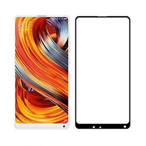 Защитное стекло 3D Full cover (на весь экран) для Xiaomi Mi Mix2 / Mi Mix 2s (Black)