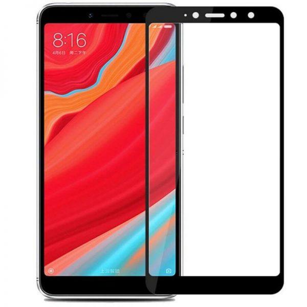 Защитное стекло 3D Full Glue (на весь экран) для Xiaomi Redmi S2 (Black)