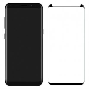 Защитное стекло 3D Full Cover (на весь экран) для Samsung G950F Galaxy S8 (Black)