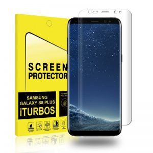 Защитная пленка 3D для Samsung G955 Galaxy S8 Plus (Прозрачная)