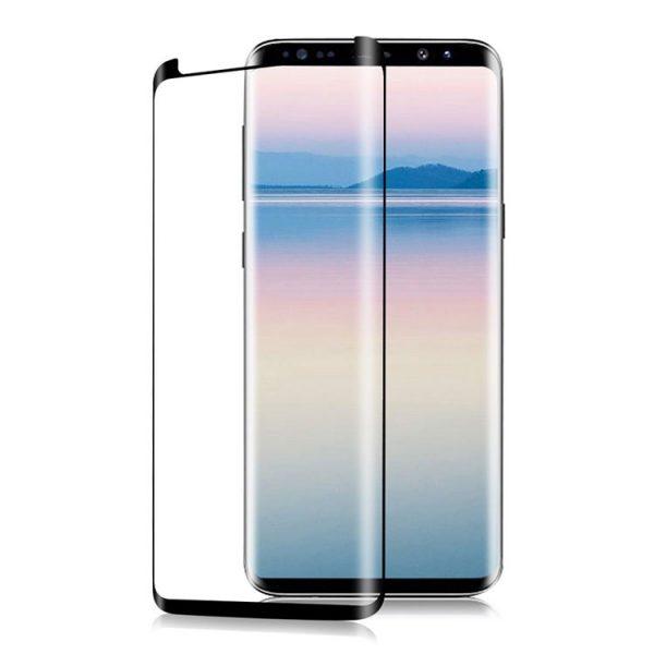 Защитное стекло 3D Full Cover (на весь экран) для Samsung G965F Galaxy S9 Plus (Black)