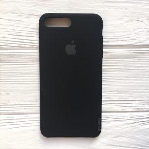 Оригинальный силиконовый чехол (Silicone case) для Iphone 7 Plus / 8 Plus (Black) №7