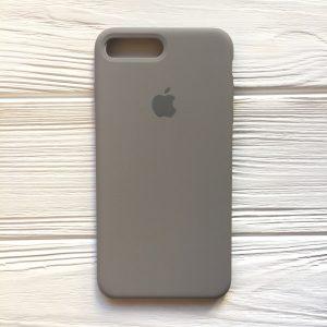 Оригинальный силиконовый чехол (Silicone case) для Iphone 7 Plus / 8 Plus (Cocoa) №32