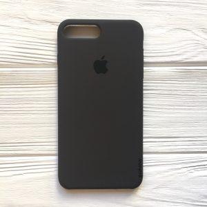 Оригинальный силиконовый чехол (Silicone case) для Iphone 7 Plus / 8 Plus (Dark Brown) №19