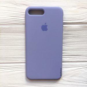 Оригинальный силиконовый чехол (Silicone case) для Iphone 7 Plus / 8 Plus (Lilac) №39