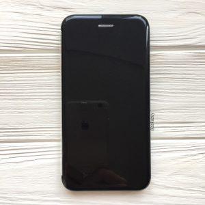 Черный глянцевый чехол-книжка (TPU+PC) для Huawei P Smart Plus / Nova 3i (Black)
