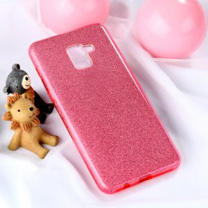 TPU чехол Shine для Samsung A730 Galaxy A8+ (2018) Pink