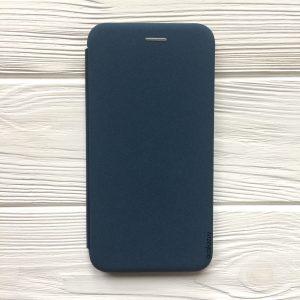 Синий чехол-книжка Inavi (экокожа + TPU) для Huawei P Smart Plus (Blue)
