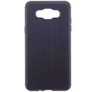 Силиконовый (TPU) чехол – бампер Metal для Samsung J510F Galaxy J5 (2016) Black