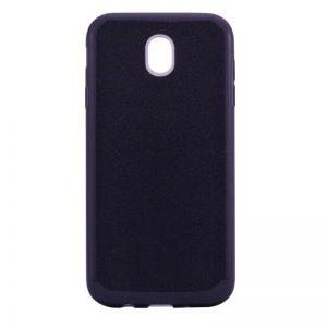 Силиконовый (TPU) чехол – бампер с блестками Shine для Samsung J730 Galaxy J7 (2017) Black
