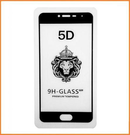 Защитное стекло 4D Full Glue (на весь экран) для Meizu M3 / M3s / M3 mini (Black)