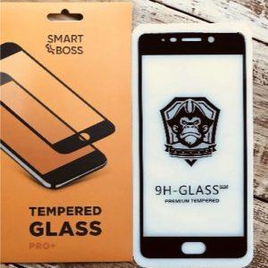 Защитное стекло 4D Full Cover (на весь экран) для Meizu M6 Note (Black)