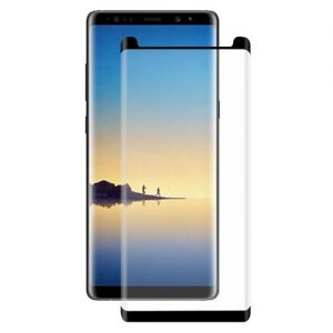 Защитное стекло 3D Full Glue (на весь экран) для Samsung N950F Galaxy Note 8 (Black)