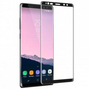 Защитное стекло 3D Full Cover (на весь экран) для Samsung N950F Galaxy Note 8 (Black)