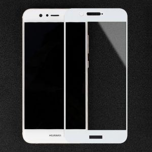 Защитное стекло 3D Full Cover (на весь экран) для Huawei  Nova 2 (White)