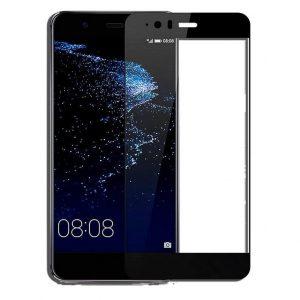 Защитное стекло 3D Full Cover (на весь экран) для Huawei P10 Lite (Black)