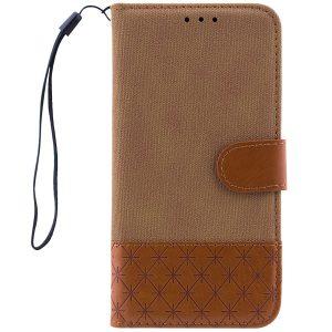 Чехол-книжка Diary c TPU креплением и функцией подставки для Xiaomi Redmi 6 Pro / Mi A2 Lite (Brown)
