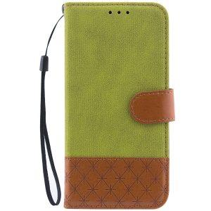 Салатовый чехол-книжка Diary c TPU креплением и функцией подставки для Samsung J730 Galaxy J7 (2017) (Green)
