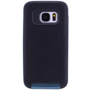 Противоударный TPU+PC чехол – бампер Deen Waves для Samsung G930F Galaxy S7  (Blue)