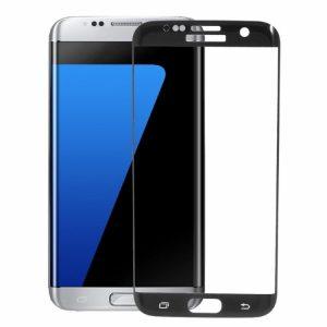 Защитное стекло 3D Full Cover (на весь экран) для Samsung G930 Galaxy S7 (Black)