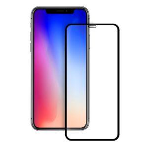 Защитное стекло 3D Full Glue (на весь экран) для Iphone XS Max (Black)