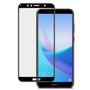Защитное стекло 3D Full Glue (на весь экран) для Huawei  Y6 (2018) /  Y6 Prime (2018) / Honor 7A Pro / Honor 7C (Black)