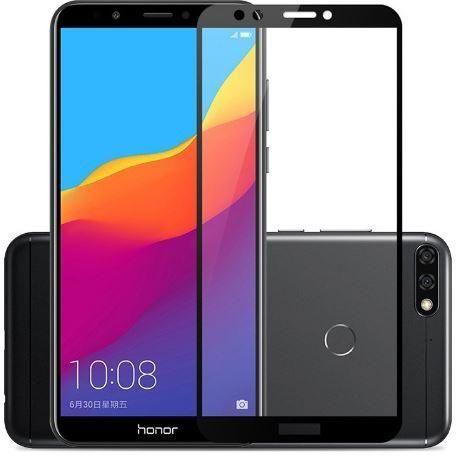 Защитное стекло 3D Full Glue (на весь экран) для Huawei Y7 (2018) / Y7 Prime (2018) / Honor 7C Pro (Black)