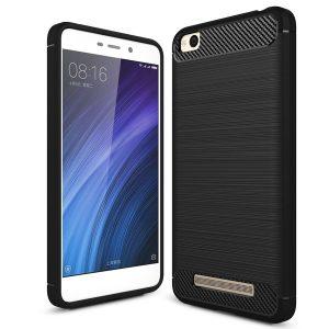 Черный силиконовый (TPU) чехол (накладка) Slim для Xiaomi Redmi 4a (Black)
