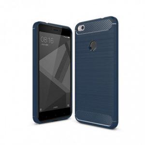 Темно-синий силиконовый (TPU) чехол (накладка) Slim для Xiaomi Redmi 4х (Navy Blue)