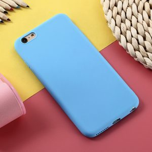 Голубой матовый силиконовый (TPU) чехол (накладка) для Xiaomi Redmi 5A (Blue)