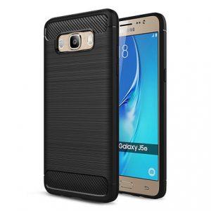 Черный силиконовый (TPU) чехол (накладка) Slim Series для Samsung J510 Galaxy J5 (2016) (Black)