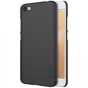 Черный пластиковый чехол (накладка) Nillkin Matte (+пленка) для Xiaomi Redmi Note 5A / Y1 Lite (Black)