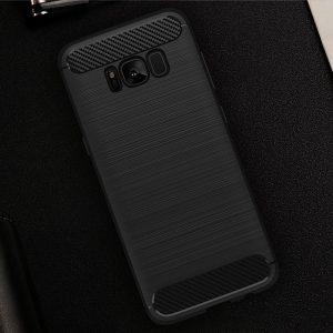 Черный силиконовый (TPU) чехол (накладка) Slim для Samsung G950 Galaxy S8 (Black)
