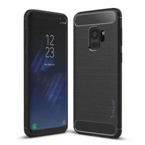 Черный оригинальный силиконовый (TPU) чехол Ipaky Slim Series для Samsung G960 Galaxy S9 (Black)