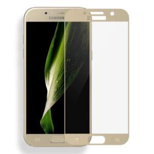 Защитное стекло 2.5D (3D) Mocolo Full Cover на весь экран для Samsung Galaxy A5 2017 (A520) – Gold