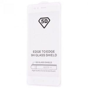 Защитное стекло 5D Full Glue Cover Glass на весь экран для Xiaomi Mi 5x / Mi A1 – White
