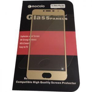 Защитное стекло 2.5D (3D) Mocolo Full Cover на весь экран для Meizu M3s / M3 / M3 mini – Gold