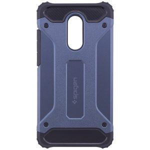 Бронированный противоударный TPU+PC чехол SPIGEN (HC) для Xiaomi Redmi 5 Plus (Navy Blue)
